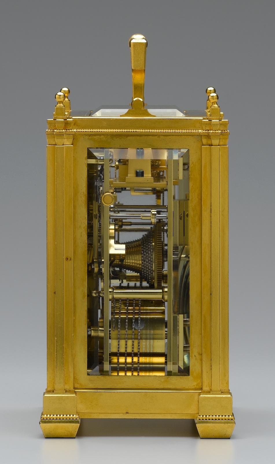 Antique Chronometer Carriage Clock For Sale Dent London