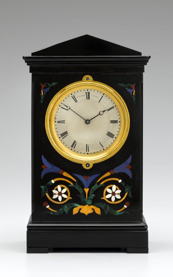 Vulliamy London No 1545 Mantel Clock Tobias Birch