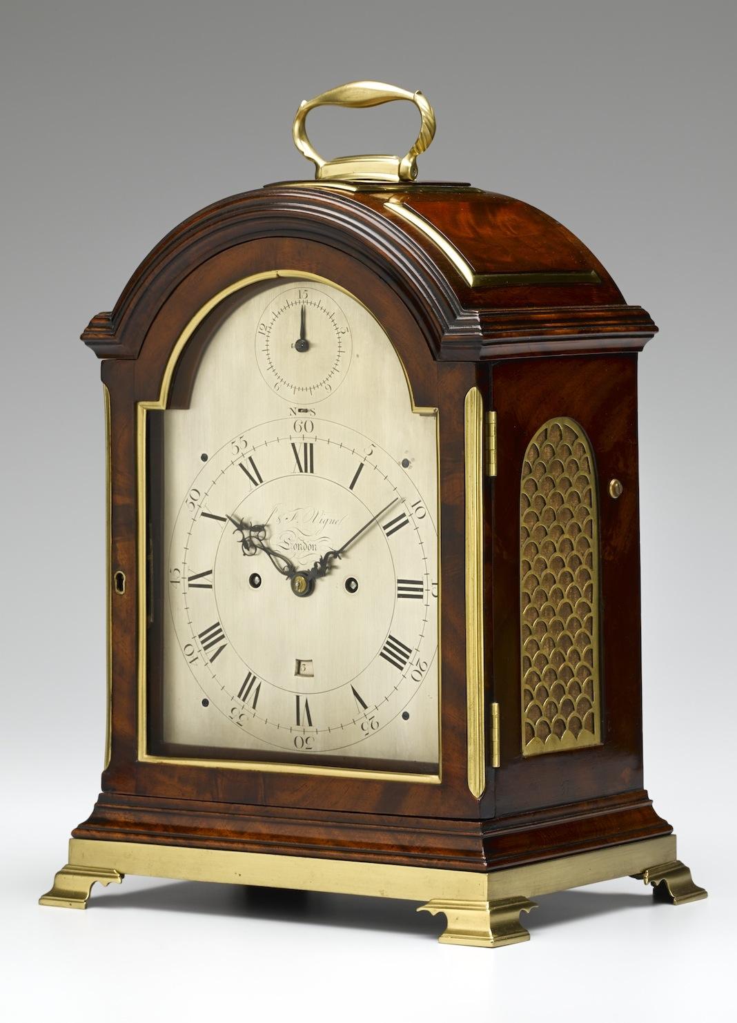 J Amp F Vigne London Bracket Clock Tobias Birch